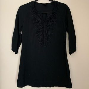 Black Tunic with Lace detail
